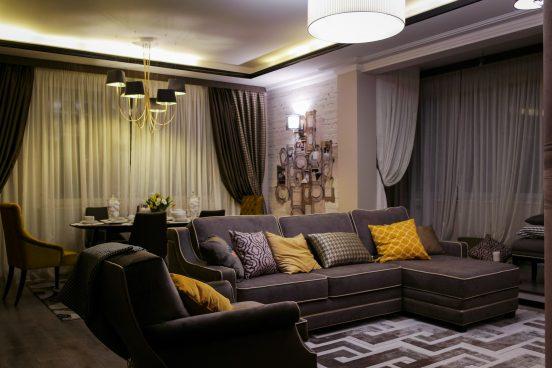 Квартира Юлии Барановской в Москве