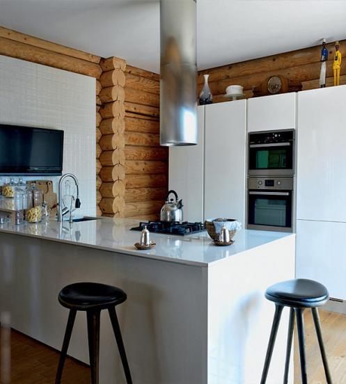 Кухня в доме Пореченкова