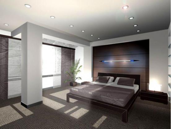 Спальня в доме Николаева