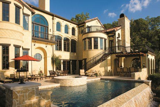 Фото особняка с бассейном певицы Алсу