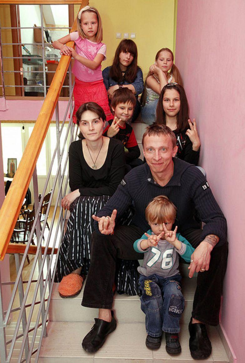 вас есть иван охлобыстин и его семья фото соучастников