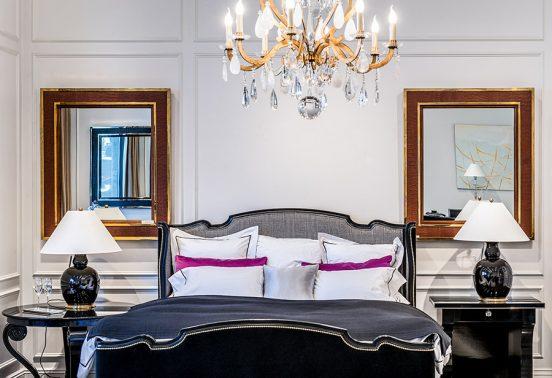 Спальня в квартире Натали