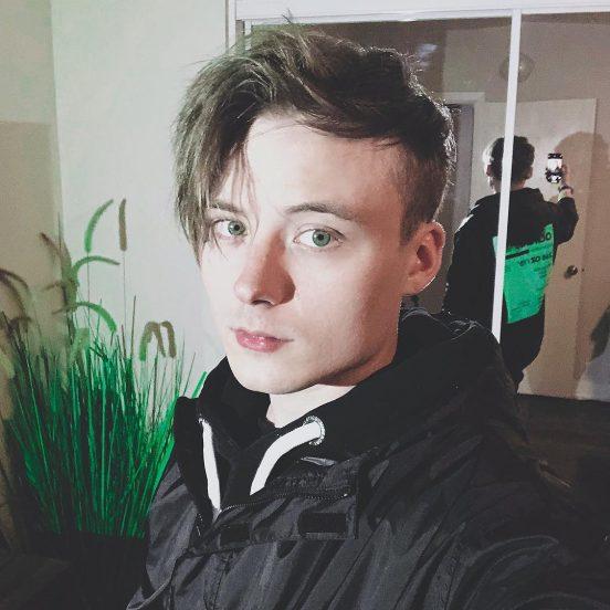 Селфи видеоблогера Ивангая