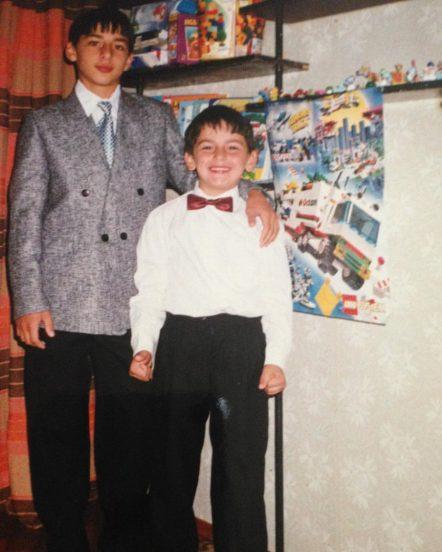 Леван с братом