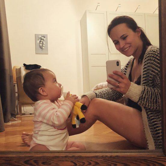 Жена с ребёнком