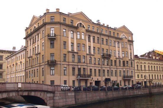 Дом, где живёт Михаил Боярский