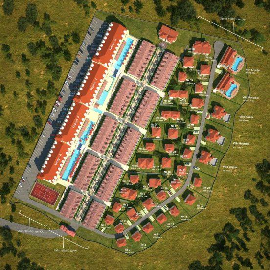 Фешенебельный комплекс Orange County в Болгарии