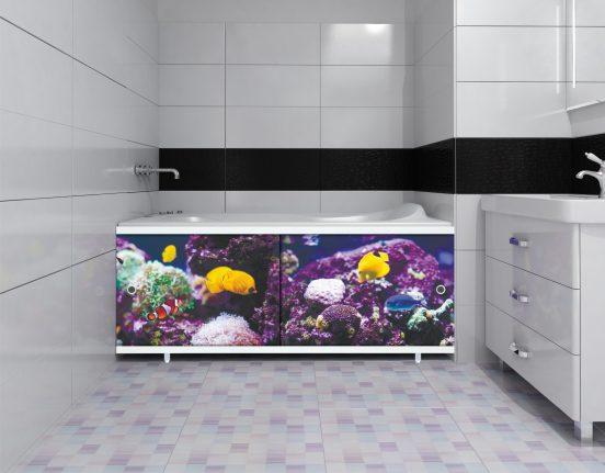 Места для хранения под ванной: идеи на фото - Отделка