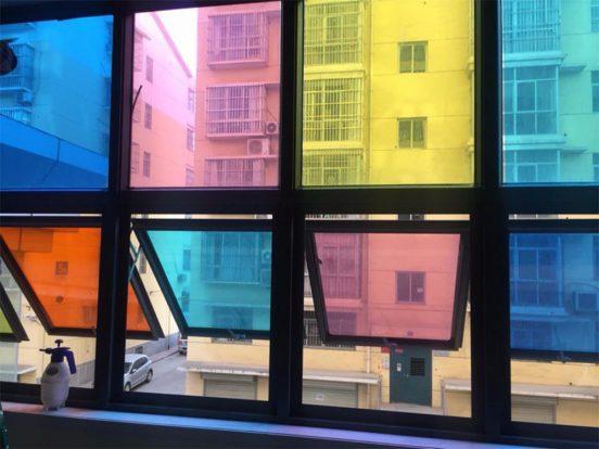 Тонирующая плёнка на окне