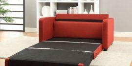 Компактные диваны со спальным местом: фото