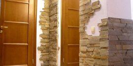 Как выложить угол декоративным кирпичом