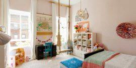 Море эмоций при минимуме затрат: качели на потолок в детскую комнату