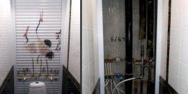 Как заделать канализационную трубу в туалете красиво: фото