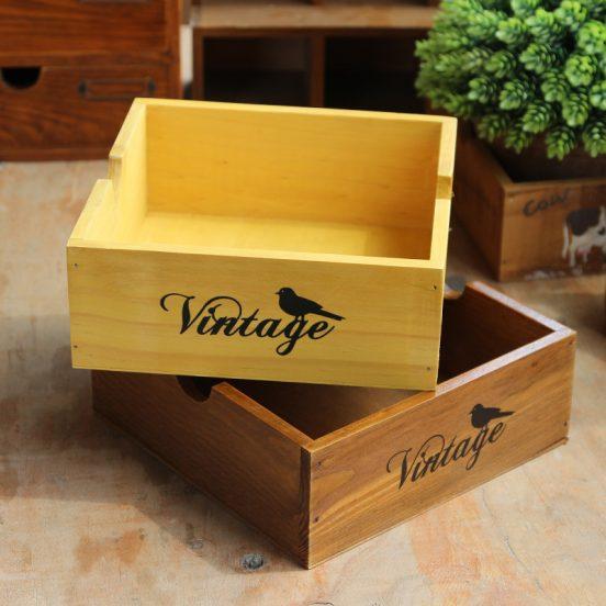 Ящик с декором