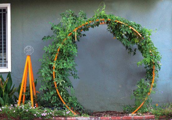арка из подручных средств своими руками
