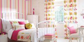 Комбинирование обоев в детской комнате: идеи на фото