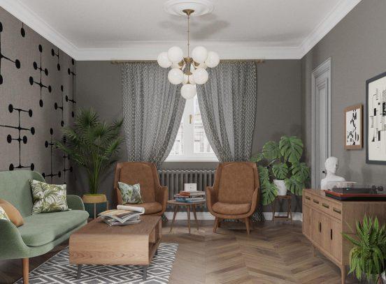 Кресла в советском стиле в интерьере
