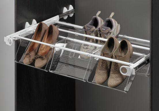 обувница в шкафу купе