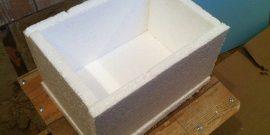 Самодельный холодильник из пенопласта: пошаговая инструкция