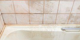 Простые методы удаления мыльного налёта в ванной