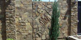 Как сделать забор из камней: сама природа даёт добро