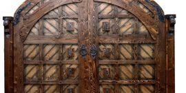 Красивые деревянные ворота и калитки: подборка фото