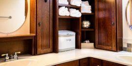10 оригинальных полочек для полотенец в ванную комнату на фото