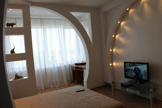 необычная арка в доме