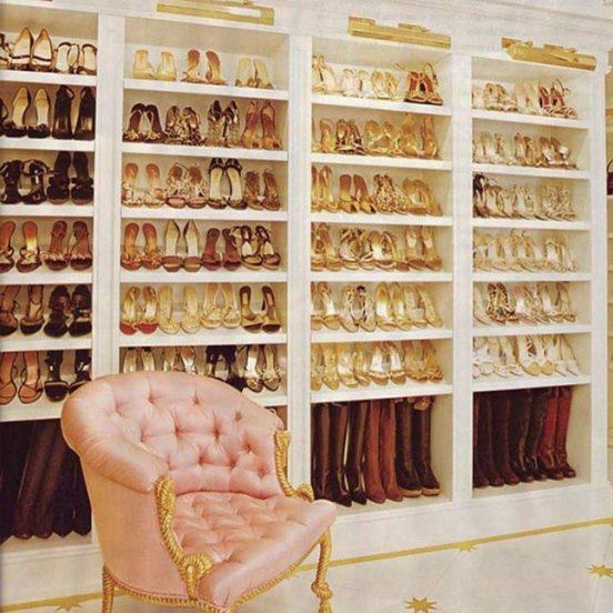 золотая гардеробная Мерайи Кэри