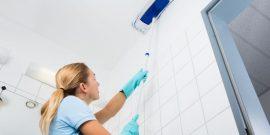 Как отмыть натяжной потолок от жира: лучшие способы