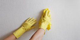 Чем отмыть клей с обоев: лучшие способы