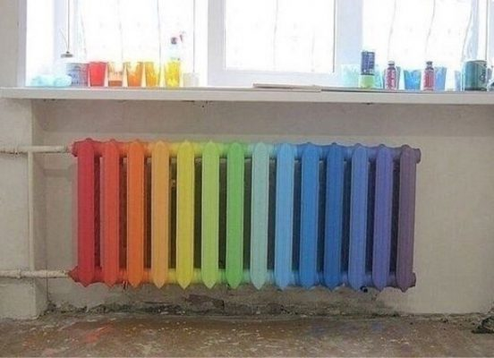 как украсить батареи в детской комнате