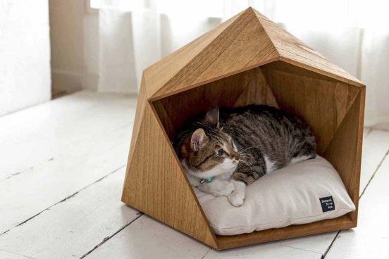 эко-домик для кошки