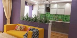 Как разделить комнату мебелью: интересные варианты использования шкафа, дивана и стеллажа