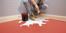 Как быстро и эффективно высушить краску на полу