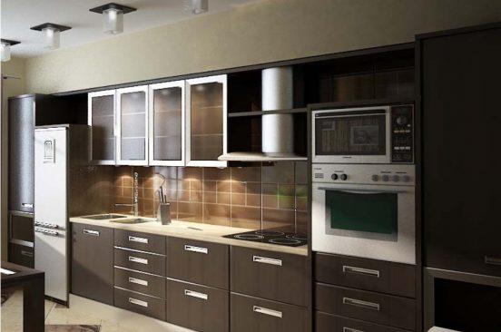 Плёночные фасады на кухне