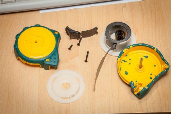 как починить рулетку измерительную