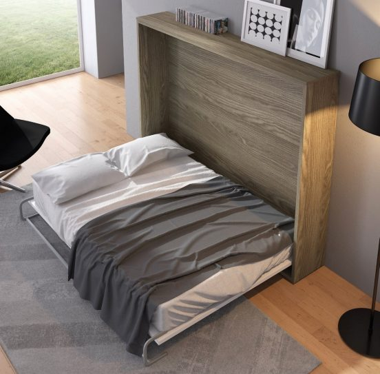 Спрятанная кровать в интерьере