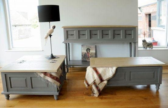 Восстановленная старая мебель