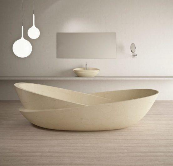 Ванна необычной формы