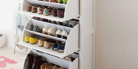 Несколько способов хранения обуви без коробок