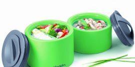 Удобные контейнеры для обедов на работу: подборка идей на фото