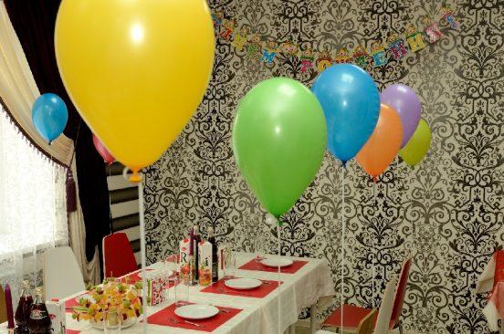 Украшение комнаты для вечеринки