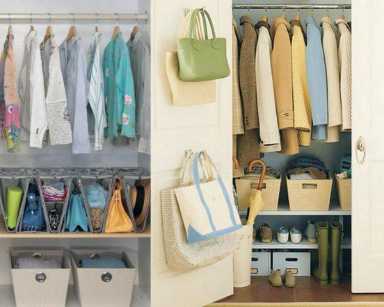 хранение сумок в прихожей