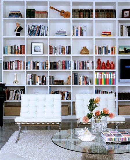 как красиво расставить книги на полке
