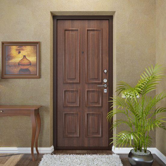 Модные входные двери