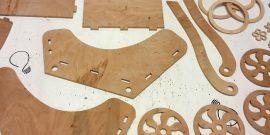 Деревянная коляска для кукол своими руками: подготовка инструментов и пошаговая инструкция