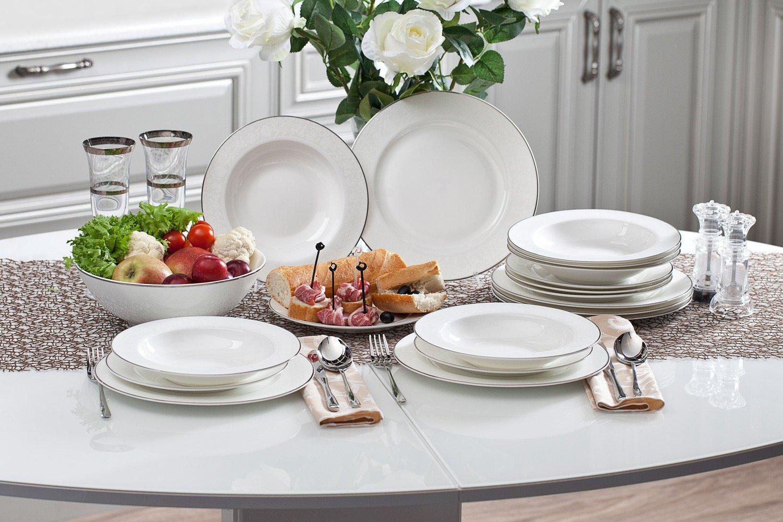 унаследованное византийского фото белой посуды с едой служил