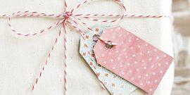 Бирки для подарков: шаблоны для творчества