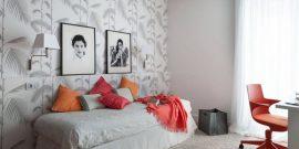 Как оформить стену в комнате подростка: фото масштабных и небольших изменений